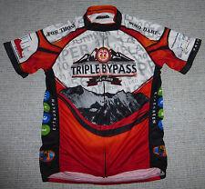 Primal Wear Colorado Triple Bypass Short-Sleeved Cycling Jersey, Women's sz M