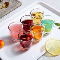 Summer Shot Glasses Set of 6 - 1.5 Oz Dishwasher Safe Shot Glass Heavy Base