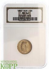 AA1245) RUSSLAND 5 Rubel 1902 AP - Nikolaus II. 1894-1917 - Gold