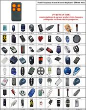 Télécommandes télécommande compatible avec Motorlift 500 1000 2000 4000 4500 5500