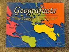 GEOGRAFACTS World Geography Board Game = Educational