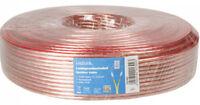 Logilink Premium Lautsprecherkabel 2x 2,5 mm² 50m Boxenkabel 50 Meter 2,5mm