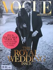 VOGUE NEDERLAND Royal Wedding Prince Harry and Meghan Markle SPECIAL EDITION NEW