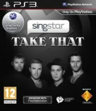 Singstar Take That Karaoke Singing Video Game / Sony PlayStation 3 Ps3