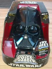 Hasbro Star Wars Darth Vader Voice Changer Head factory sealed with 3 modes