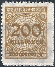 Korbdeckel MiNr. 323BP mit Plattenfehler HT (2) postfrisch