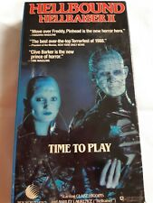 Hellbound: Hellraiser 2 (VHS, 1997)Time To Play -Clare Higgins & Ashley Laurence