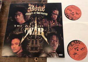 Bone Thugs-N-Harmony ~ The Art Of War NM OG 2 LPs Ruthless