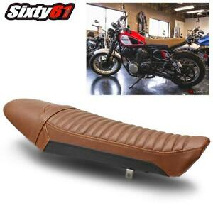 Yamaha SCR950 Seat Cover 2017 2018 Black Brown Front Rear Luimoto