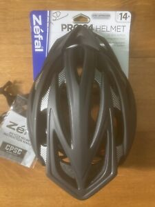 """Zefal """"Pro Race"""" Black Cycling Helmet with 24 Large Vents Adult 1-Size"""