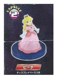 Yujin 2007 Super Mario Galaxy Capsule 2 Princess Peach Gashapon Figure Nintendo