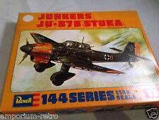 revell 1:144 19 junkers ju-87b stuka vintage model aircraft kit rare