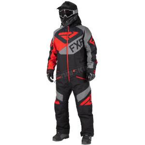 FXR 3XL Racing Black/Gray/Lava Fuel FX Monosuit - 202813-1022-22