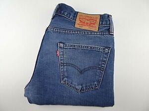 """LEVIS 504 Mens Jeans Straight Leg Blue Denim SIZE W31 L32 Waist 31"""" Leg 32"""" LEVI"""