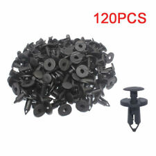 Car Splash Guard Push Clips Panel Plastic Rivet Fasteners Retainer Bumper Fender