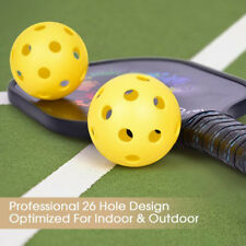 70mm EVA Pickleball Bouncy Durable Ball for Outdoor & Indoor Exercise Activity