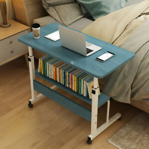 Lifting Computer Desk Bedside Mobile Sofa Notebook Bed Laptop Table Folding