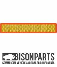 + Camion Rimorchio & tipo 5 ECE5 posteriore Marker Board 1130x195MM BP76-122 in alluminio