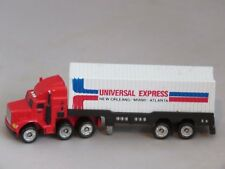 """Vintage 1989 """"Universal Express"""" truck tractor trailer GALOOB MICRO MACHINES"""