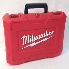 "Milwaukee 1/4"" Impac Driver Case 2462-20 2462-22 M12 12v"