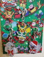 Pokemon Pikachu Christmas Tree Keychain Schlüsselanhänger Alola Vulpix Cosplay