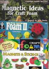 3 Pattern Books for Kids Foam Sheet Crafts