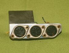 Uher Royal Stereo Koffer-Tonbandmaschine Typ 782E-Ersatzteil-DIN-Buchsen !