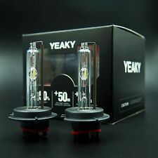 AC 55W H7 YEAKY HID Xenon Replacement BULBS 5500K OEM PHILIPS QUARTZ GLASS