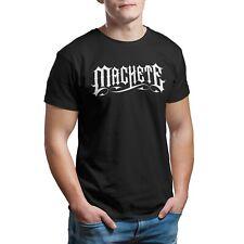 T-Shirt Uomo Donna Salmo Machete Rapper Maglietta Hip Hop Trap No CD Maglia