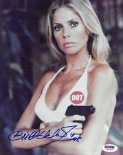 Britt Ekland Signed James Bond Authentic Autographed 8x10 Photo PSA/DNA #W62605