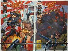 DANGER GIRL KAMIKAZE (2001 CLIFFHANGER/IM)1-2 THE SET!
