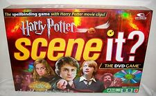 Mattel ©2005 HARRY POTTER SCENE IT? DVD Game COMPLETE & FUN