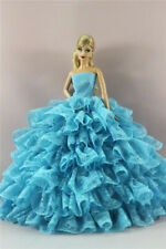 Fashion Handmade Princess Dress Wedding Clothes Gown for 11.5in.Doll #15