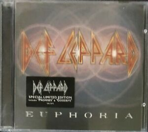 Euphoria by Def Leppard (CD, 1999) - Limited Edition