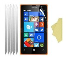 [5 Pack] Ultra Clear Screen Lcd Protector Cover Guards for Microsoft Lumia 435
