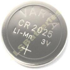 5 x CR2025 Varta Lithium Batteries CR 2025 DL2025 KCR2025 (1 x 5 pack)