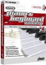 Magix Piano Y Teclado Taller 2.0 - Tutor Pc (nuevo)
