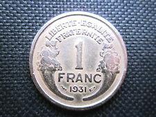 1 Franc Morlon bronze-alu 1931    TTB