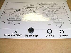 TUNE-UP REBUILD RESEAL O-RINGS SEAL KIT Crosman PumpMaster 760 Powermaster 66