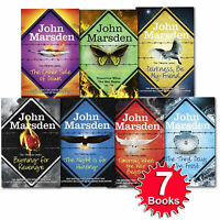 Tomorrow when the war began Series Collection 7 Books Set John Marsden Brand NEW