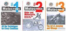 Motocross MX Dirt Bike Skills DVD Value Pack 1st 3 DVDs of Volume 1  Gary Semics