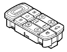 VAUXHALL SWITCH - GENUINE NEW - 24436375