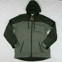 Under Armour Men's Coldgear Swacket Forest Green Zip Up Hoodie Jacket 1320710 XL