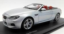 BMW M6 Convertible F12 1:18 scale Model Miniature Car Silver 80432253656  OEM