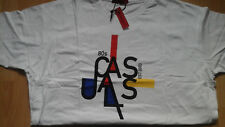 80S CASUALS Bauhaus T-shirt XXXL/3XL anni ottanta Nuovo con etichette Deadstock T Shirt