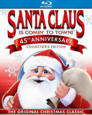 Santa Claus Is Comin to Town (Blu-ray Disc, 2015, 45th Anniversary) NEW