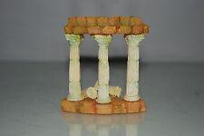 Aquarium Detailed Ancient Column Arch Ruin Decoration 8 x 3.5 x 9 cms