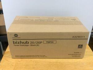 Konica Minolta A32W011 TNP24 Black Toner Cartridge bizhub 20, 20P Sealed