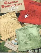 Garden Dishcloths to Knit 12 Different Designs Leisure Arts Leaflet 3934