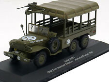 Dodge WC63 12 704th Tank Destroyed - VEHICULE MILITAIRE IXO 1/43 WW2- TANK M14